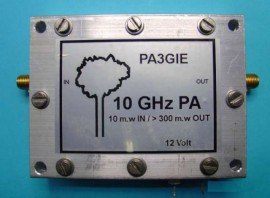 3CM PA 10mWatt > 300mWatt out