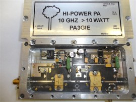 3CM (10GHz) PA 300mWatt > 10Watt