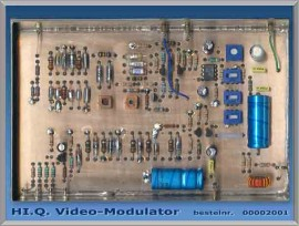High Quality Video-modulator