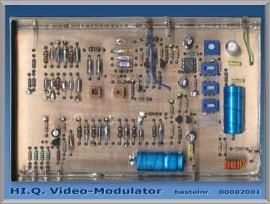 High Quality Video-modulator   (EMT)